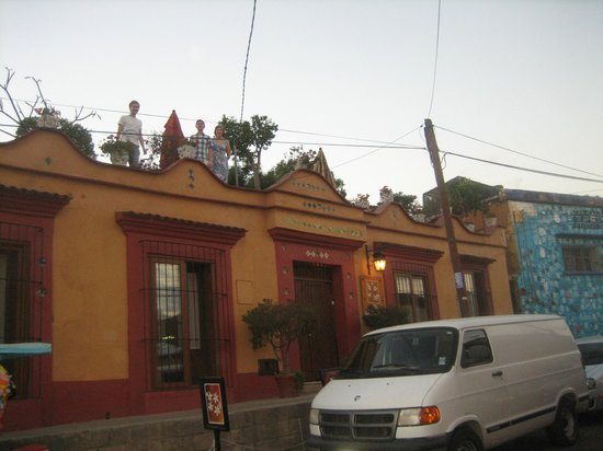 Hotel Azucenas:                   From the street