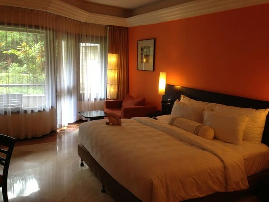 The Royal Beach Seminyak Bali - MGallery Collection:                   Our ENROMOUS room.  :)