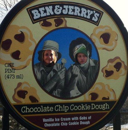 Ben & Jerry's:                   Fun photo ops