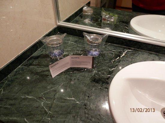 Hotel Olympia :                   Encimera