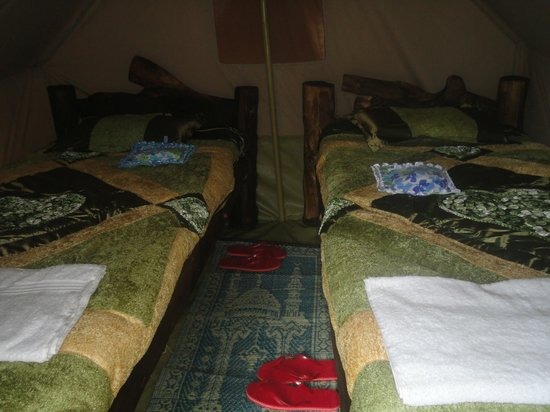 Moof Africa Organic Hostel / Camp: Clean double beds