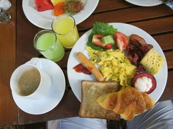 ‪‪Burasari Resort‬: Perfect breakfast‬