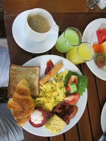 Burasari Resort: Perfect breakfast