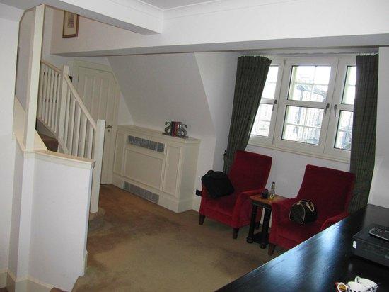 The Scotsman Hotel: Lounge area