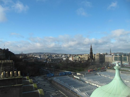 The Scotsman Hotel: One of the views