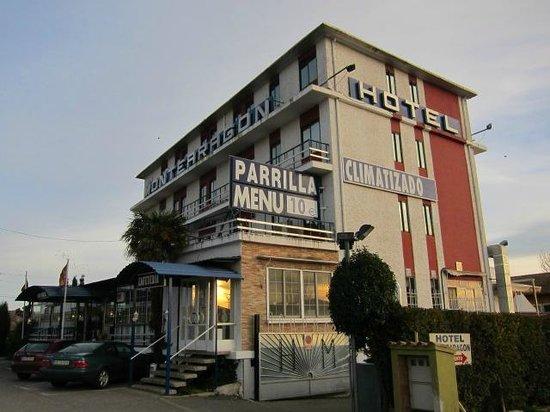 Hotel Montearagon:                   外観