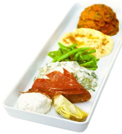 Fattoush: Meze meal