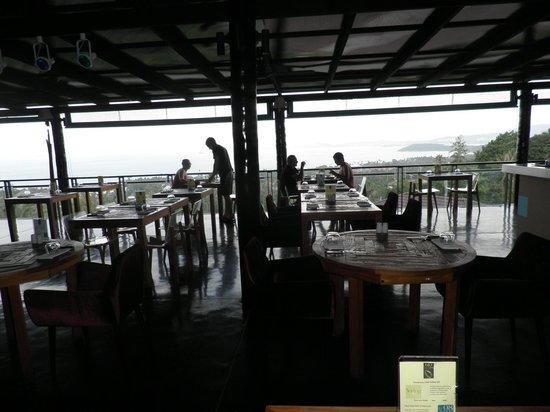 Mantra Samui Resort:                   Restauranten på Mantra