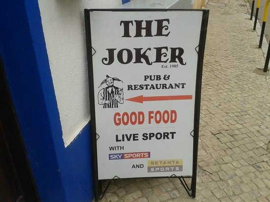 The Joker Pub Quartiera Portugal