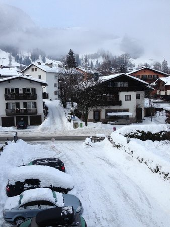 Pension Schmidinger:                                     View from room 23