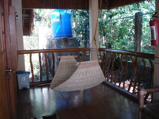 Bura-akay Nature Resort:                   Hammock one