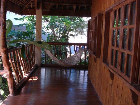 Bura-akay Nature Resort:                   Hammock two