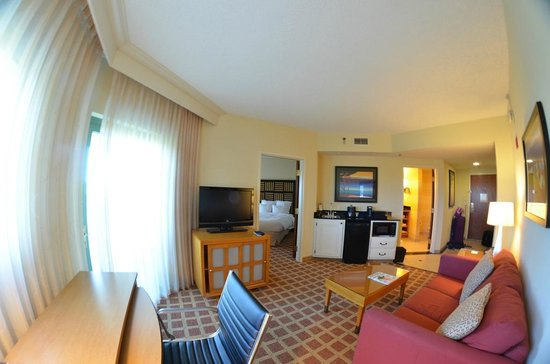 The Renaissance World Golf Village Resort:                                     Great room layout