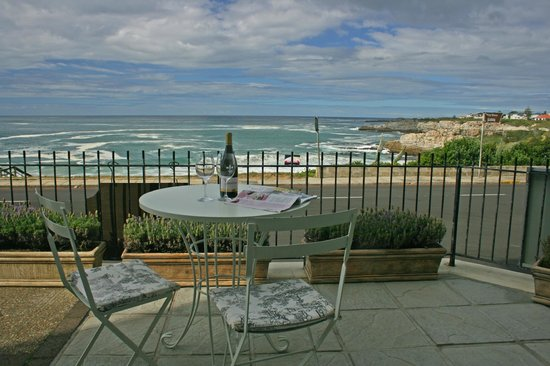 Just Pure Bistro: Our Patio with our view!