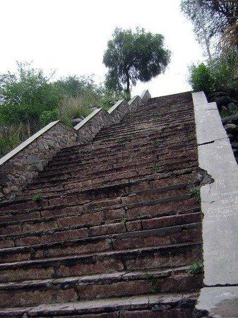 Escaleras al alto de piedra laja picture of olta - Escaleras de piedra ...