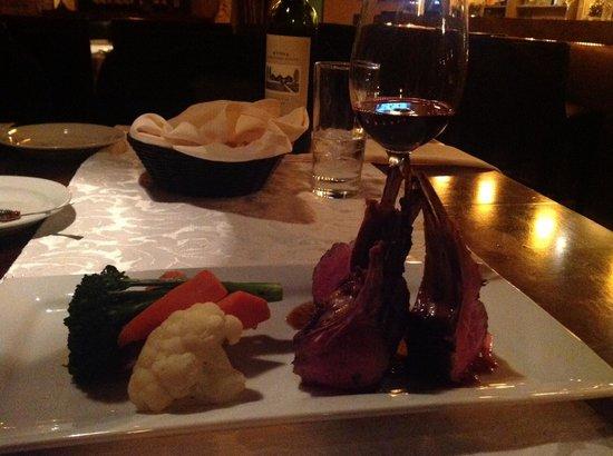 Spero Ristorante:                   New Zealand Lamb - sooo good!