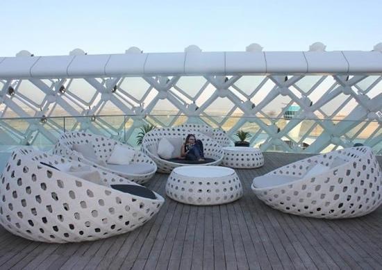 Yas Viceroy Abu Dhabi:                   nice hangout near the pool