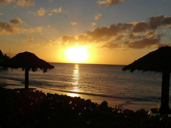 Halcyon Cove by Rex Resorts:                   Typical sunset viewed from room area