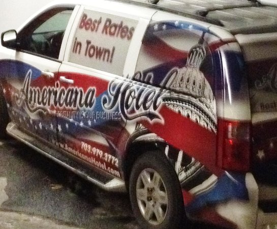 Americana Hotel:                   Shuttle