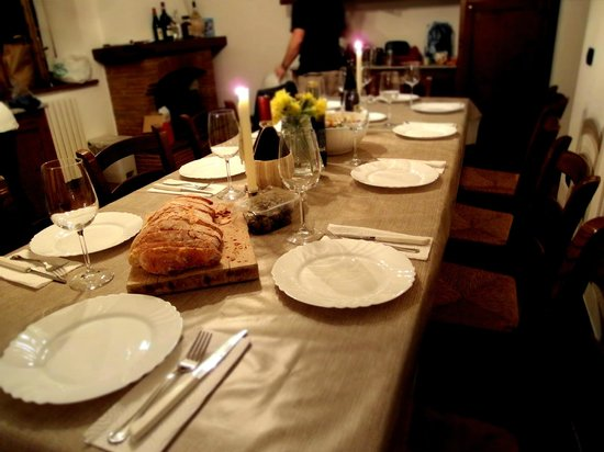Agriturismo Campolaia: Dinner!