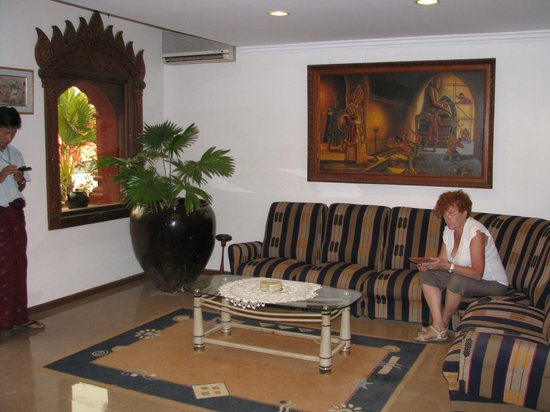 Thurizza Hotel Bagan: Lobby