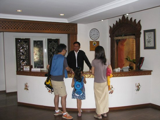 Thurizza Hotel Bagan: Reception