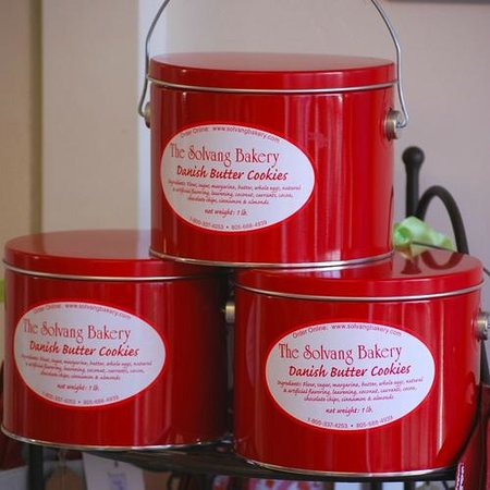 The Solvang Bakery : Danish Butter Cookie Tins
