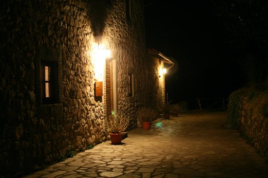 Agriturismo Campolaia:                   The view at night