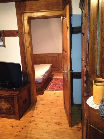 Le Gambrinus :                   living and bedroom
