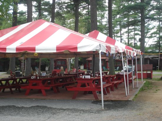 "Tail O'The Pup:                   The ""all-weather""  outdoor dining"