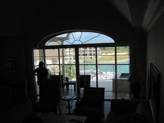 The Landings St. Lucia:                   living room