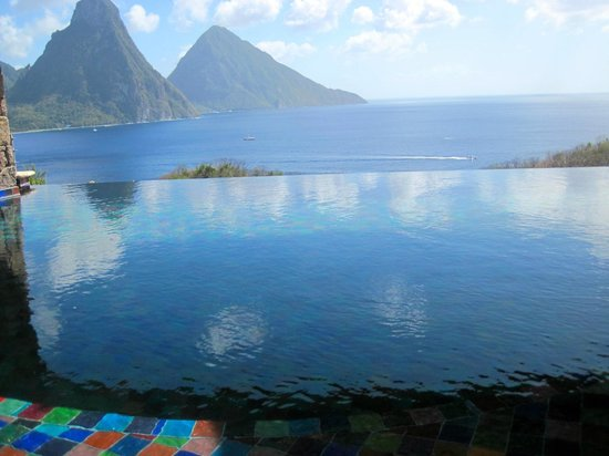 Jade Mountain Resort:                   in room infinity pool