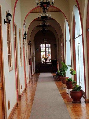 Don Bosco Hotel:                   Hotel Hallway