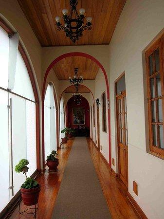 Don Bosco Hotel :                   Hotel Hallway