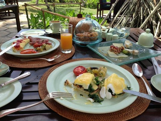 The Oberoi Bali: breakfast