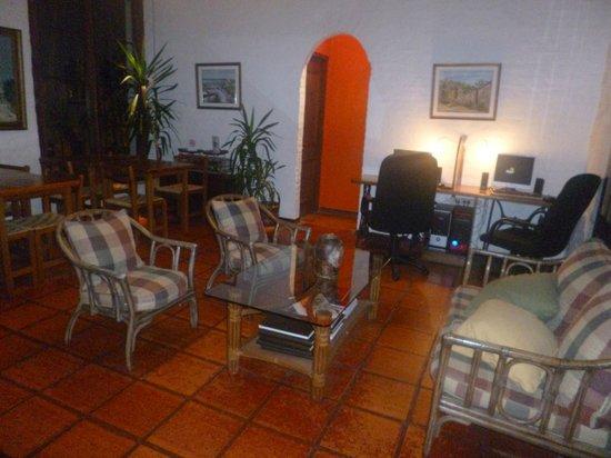 Don Antonio Posada: Lobby del hotel