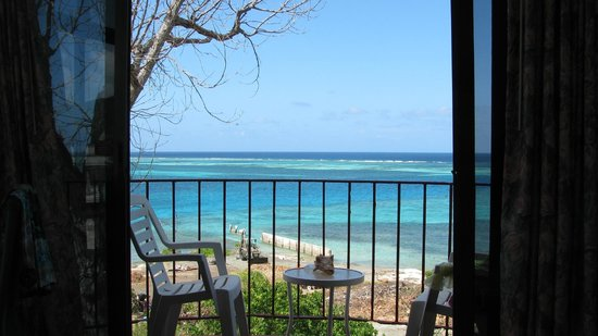 Hotel on the Cay:                   What a view!