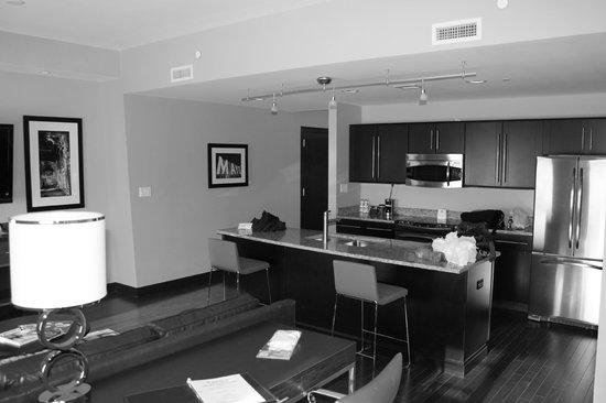 The Mayo Hotel:                   Mayo Suite - kitchen