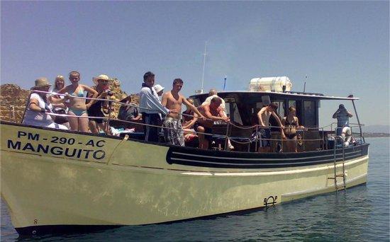 Portimao, Portogallo:                                                       MANGUITO BOAT TRIP