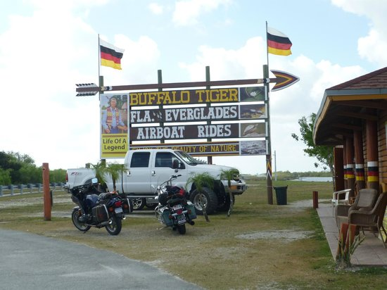 Buffalo Tigers Airboat Tours