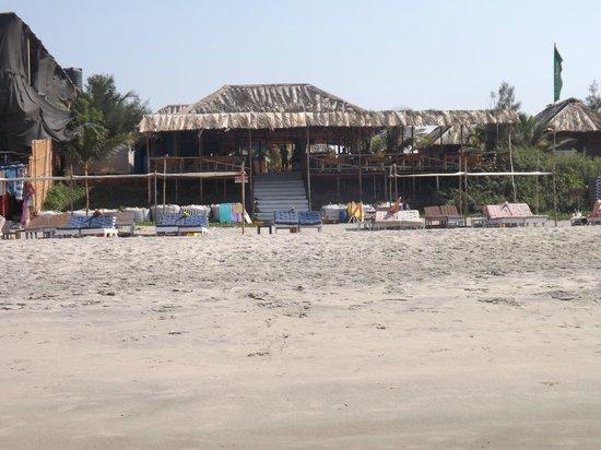 Ashwen Beach:                   Shack we stayed at