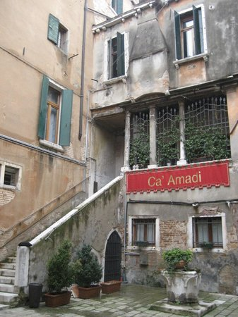 Locanda Ca' Amadi:                   la façade