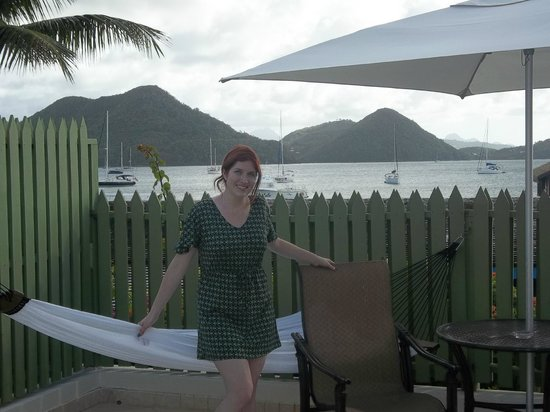 Sandals Grande St. Lucian Spa & Beach Resort:                   View from our private patio