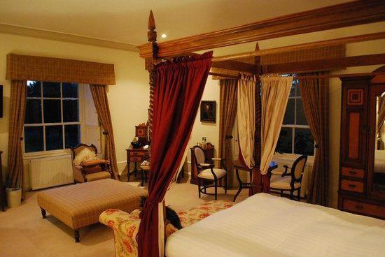 Boath House Hotel: Lake view room