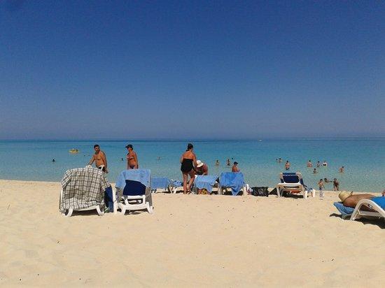 Melia Cayo Santa Maria:                   The nice beach                 