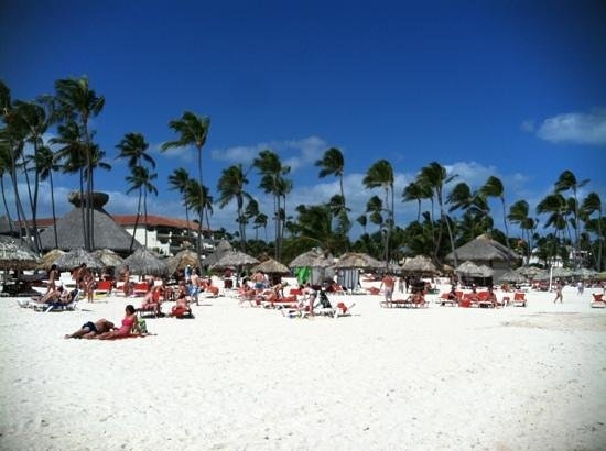Secrets Royal Beach Punta Cana:                   looking at resort from ocean