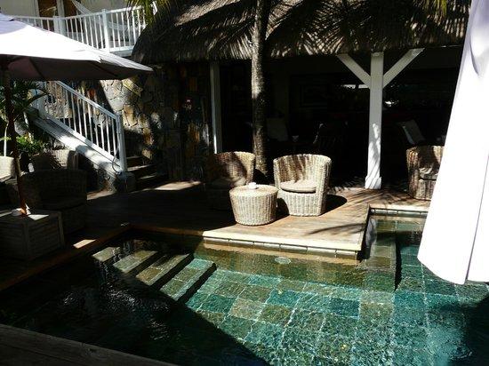 20 Degres Sud Hotel: Piscine et bar