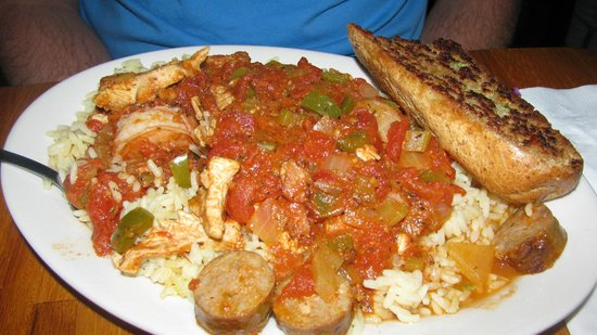 Paradise Cafe:                   Try the Jambalaya!