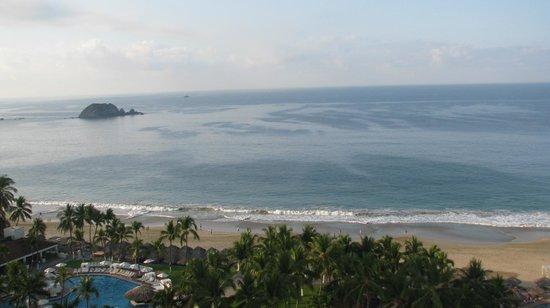 Sunscape Dorado Pacifico Ixtapa :                                                       vue partielle sur mer