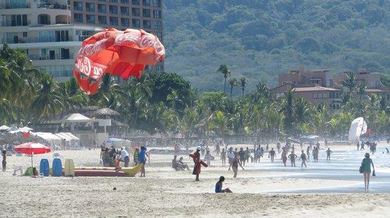 Sunscape Dorado Pacifico Ixtapa:                                                       plage